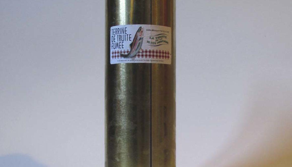 Terrine de Truite fumée 900g